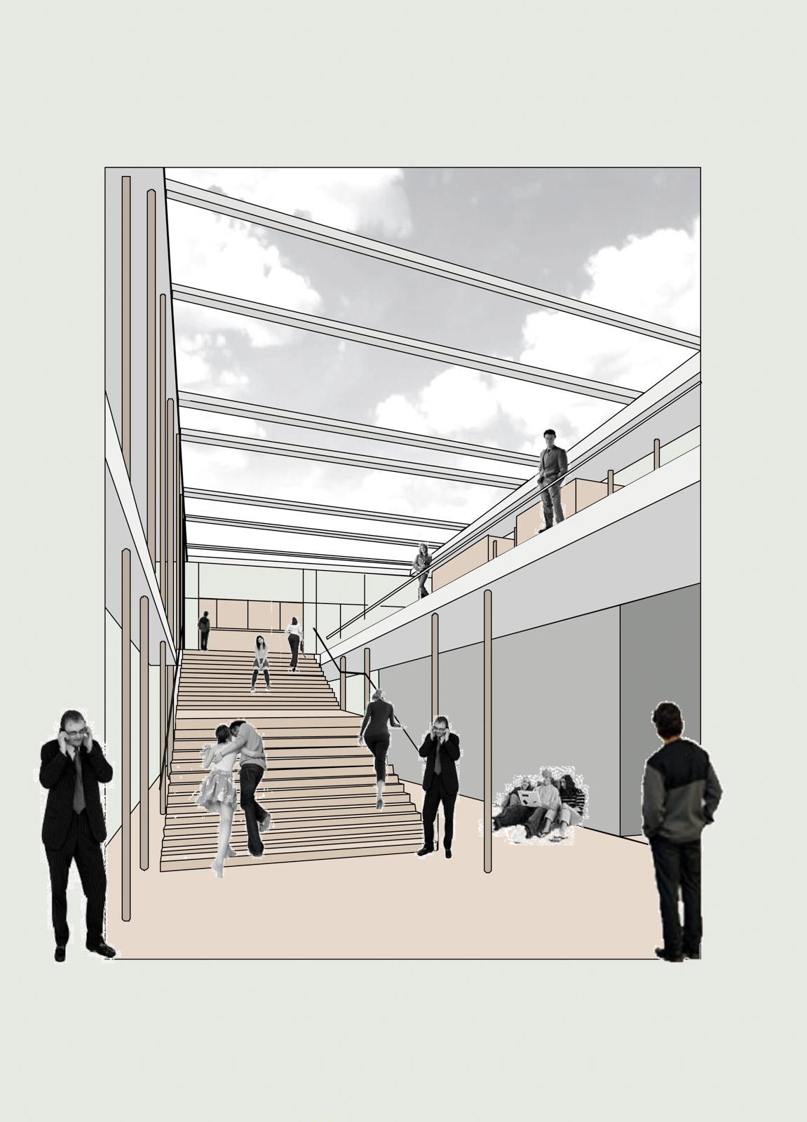 Neubau Schulmensa mit Selbstlernzentrum Lauda